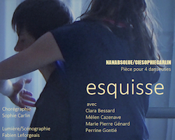 "SPECTACLE DE DANSE ""ESQUISSE"" #L'Honor-de-Cos"