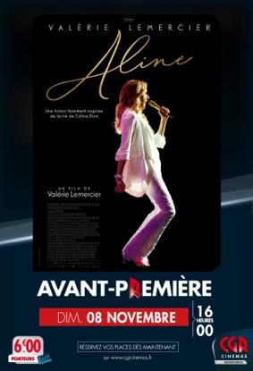 ALINE - EN AVANT-PREMIÈRE #Montauban @ CGR MONTAUBAN
