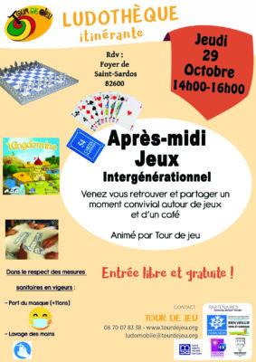 APRÈS-MIDI JEUX INTERGÉNÉRATIONNEL #Saint-Sardos