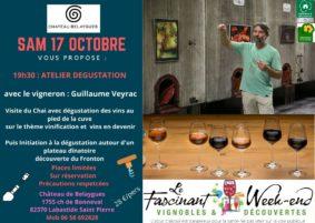 ATELIER DÉGUSTATION AVEC LE VIGNERON #Labastide-Saint-Pierre @ Chateau de Belaygues