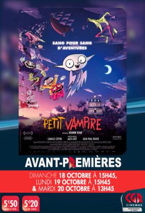 AVANT-PREMIÈRE PETIT VAMPIRE #Montauban @ Cinéma CGR Le Paris