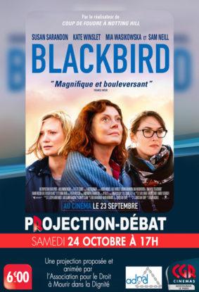 CINÉ-DÉBAT BLACKBIRD #Montauban @ Cinéma CGR Le Paris