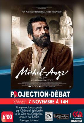 CINÉ-DÉBAT MICHEL-ANGE #Montauban @ Cinéma CGR Le Paris