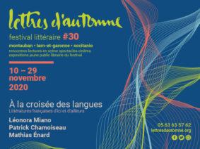 LETTRES D'AUTOMNE #30 #Montauban @ Théâtre Olympe de Gouges