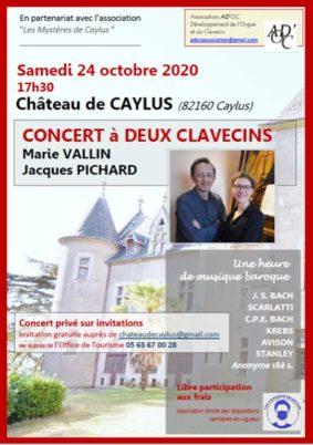 MUSIQUE BAROQUE #Caylus @ Château de Caylus