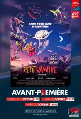 PETIT VAMPIRE - EN AVANT-PREMIÈRE #Montauban @ CGR MONTAUBAN