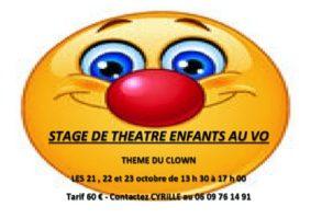 STAGE THEATRE/CLOWN ENFANTS #Montauban @ ESPACE VO