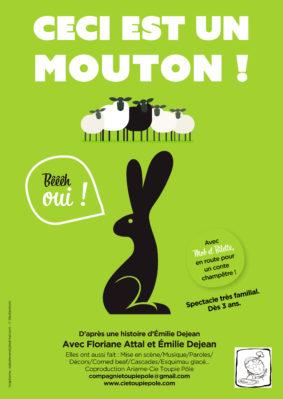 CECI EST UN MOUTON !... BÊÊÊH OUI ! #Montauban @ Espace V.O