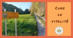 CURE DE VITALITÉ AU CHALET DU BOUSCALLOU #Montaigu-de-Quercy @ Chalet du Bouscaillou