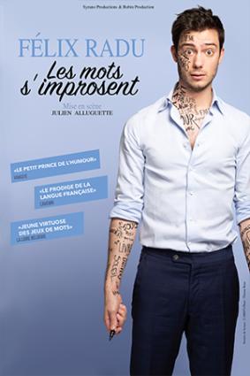 FÉLIX RADU : LES MOTS S'IMPROSENT #Montauban @ Espace V.O
