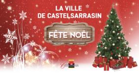 LES FETES DE NOEL A CASTELSARRASIN !! #Castelsarrasin