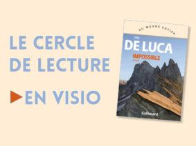CERCLE DE LECTURE : ERRI DE LUCA #Montauban @ La petite Comédie