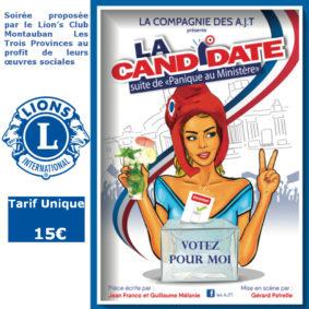 LA CANDIDATE #Montauban @ Théâtre de l'Embellie
