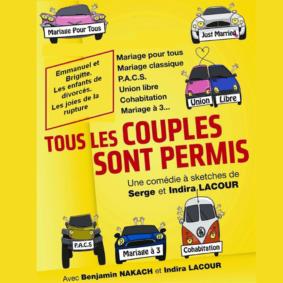 TOUS LES COUPLES SONT PERMIS #Montauban @ Théâtre de l'Embellie