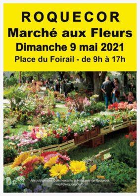 MARCHÉ AUX FLEURS #Roquecor
