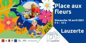 PLACE AUX FLEURS #Lauzerte