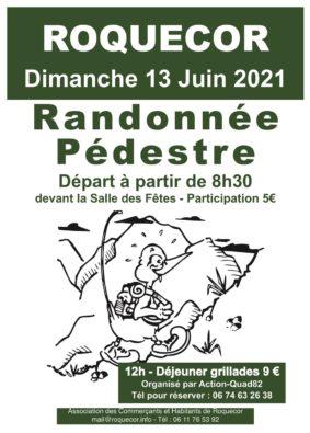 RANDONNÉE PÉDESTRE #Roquecor