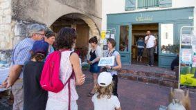VISITE DE LA CITÉ MÉDIÉVALE : FOCUS SUR LES MÉTIERS D'ART À LAUZERTE #Montaigu-de-Quercy