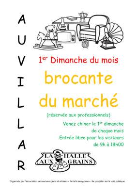 BROCANTE DU MARCHÉ #Auvillar