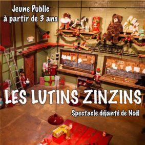 LES LUTINS ZINZINS ET LE PÈRE NOËL #Montauban @ Théâtre de l'Embellie