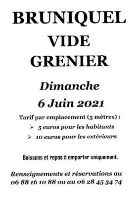 VIDE GRENIER #Bruniquel