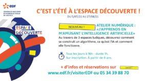 ATELIER : J'APPRENDS EN M'AMUSANT L'INTELLIGENCE ARTIFICIELLE #Valence d'Agen @ Espace découverte EDF