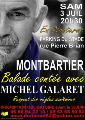 BALADE CONTÉE AVEC MICHEL GALARET #Montbartier