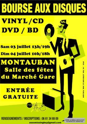 BOURSE AUX DISQUES VINYL, CD, DVD & BD #Montauban @ salle des Fêtes du Marché-Gare