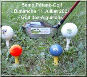 COMPÉTITION DE PÉTANK-GOLF #Montauban @ Golf des Aiguillons