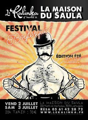 FESTIVAL BOYLESQUE ́EDITION ETE 2021 #Lafrançaise @ La Maison du Saula