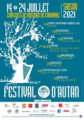FESTIVAL D'AUTAN #Bruniquel