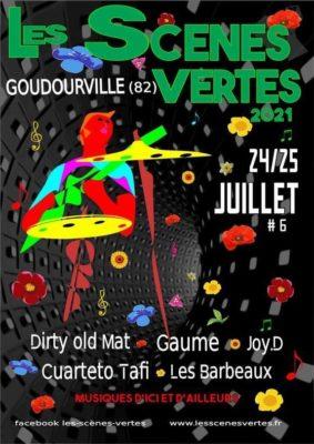 FESTIVAL LES SCÈNES VERTES #Goudourville