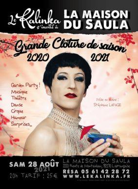 GRANDE CLÔTURE DE SAISON 2020/2021 #Lafrançaise @ La Maison du Saula