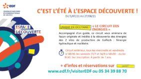 LE CIRCUIT DES ENERGIES DES CENTRALES DE GOLFECH #Valence d'Agen @ Espace découverte EDF