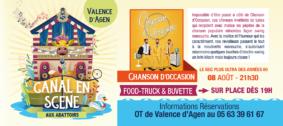 CHANSON D'OCCASION #Valence d'Agen @ Aux Abattoirs