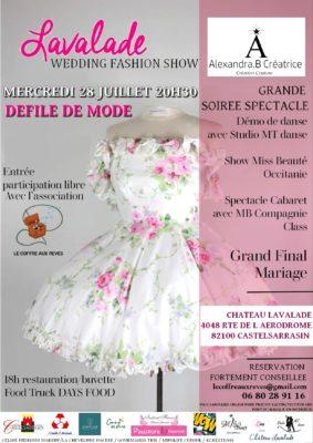 LAVALADE FASHION SHOW #Castelsarrasin @ Château Lavalade