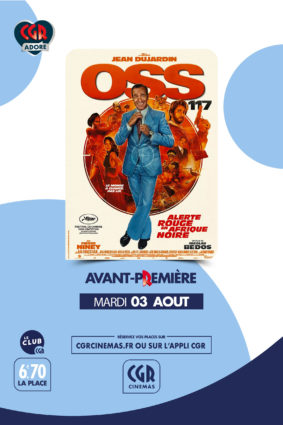 OSS 117 : ALERTE ROUGE EN AFRIQUE #Montauban @ CGR MONTAUBAN