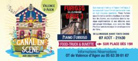 PIANO FURIOSO #Valence d'Agen @ Aux Abattoirs