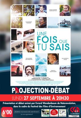 CINÉ-DÉBAT UNE FOIS QUE TU SAIS #Montauban @ Cinéma CGR Le Paris