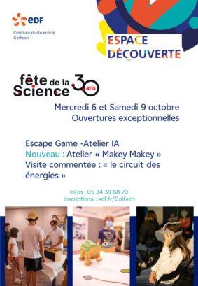 ESCAPE GAME ROBOTIQUE #Gratuit #Valence d'Agen @ Espace découverte EDF