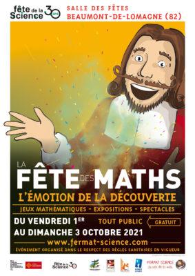 FÊTE DES MATHS : ATELIERS & SPECTACLE #Beaumont-de-Lomagne