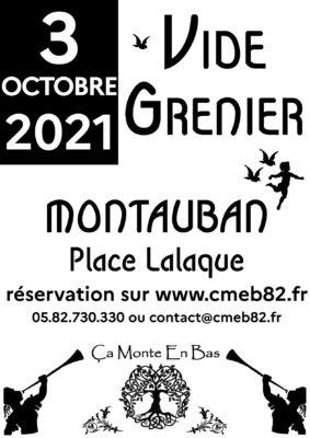 VIDE GRENIER D'AUTOMNE #Montauban
