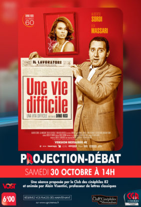 CINÉ-DÉBAT UNE VIE DIFFICILE #Montauban